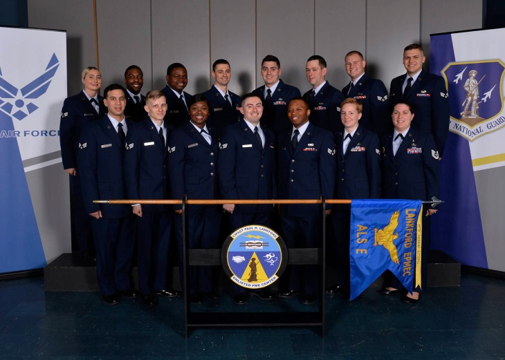 Airman Leadership School Class 18-4, E-Flight