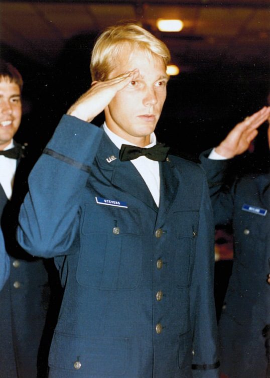 Officer candidates in the Academy of Military Science Class 86-6 attend their ceremony at the I.G. Brown Air National Guard Professional Military Education Center. (U.S. Air National Guard file photo)