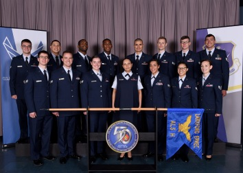 Airman leadership school class 18-8, H-flight at the Chief Master Sergeant Paul H. Lankford Enlisted Professional Military Education Center, June 6, 2018, on McGhee Tyson Air National Guard Base in Louisville, Tenn. (U.S. Air National Guard photo/Master Sgt. Mike R. Smith)